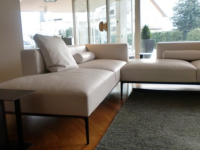 sofas und couches walter knoll sofa jaan living leder light grey walter knoll sofa jaan living. Black Bedroom Furniture Sets. Home Design Ideas