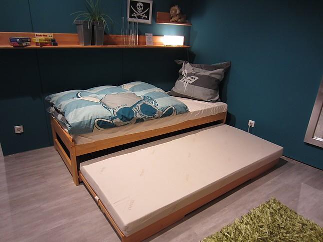 kinderbetten tandemliege cubus aus dem programm mobile. Black Bedroom Furniture Sets. Home Design Ideas