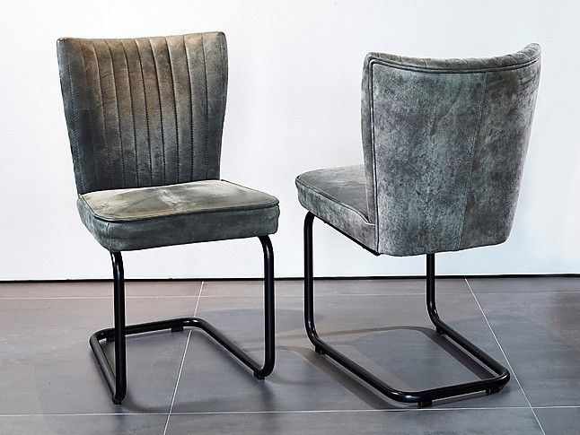 Stuhle Stuhl Julie Leder Kongo Kl 6 Stuhle Freischwinger