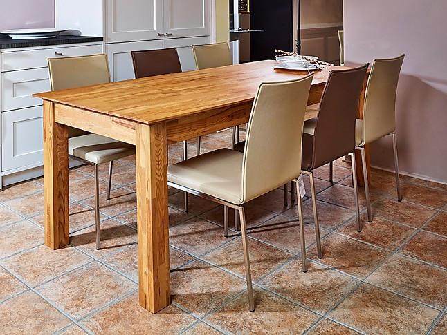 Stühle Kosmos II, Leder, Creme und Nougat (KL) 6 Stühle ...