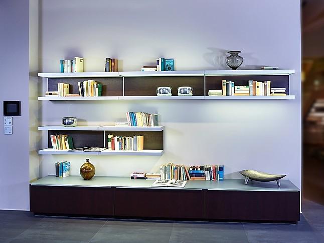 wohnw nde plusmodo fg 369 mooreiche wohnwand poggenpohl. Black Bedroom Furniture Sets. Home Design Ideas