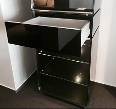 schr nke und vitrinen cube gap einzelvitrine interl bke m bel von meiser k chen gmbh in hanau. Black Bedroom Furniture Sets. Home Design Ideas
