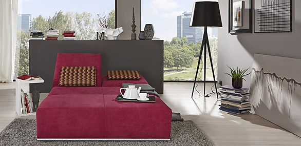 betten nehl mod larry kleine verwandlungsliege in rot. Black Bedroom Furniture Sets. Home Design Ideas