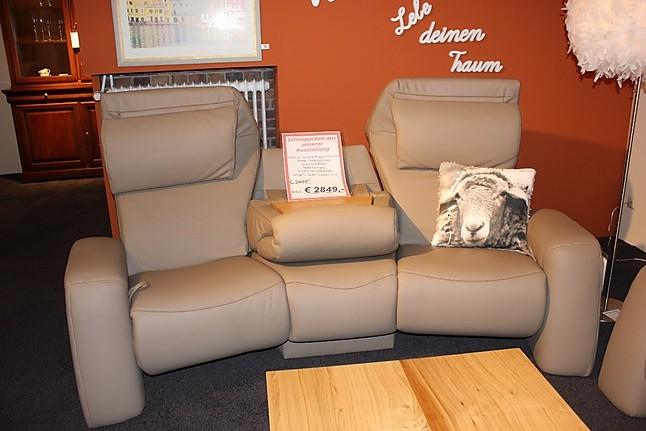 Sofas und Couches Global 8500 Relaxsofa Cinema Echt Leder ...
