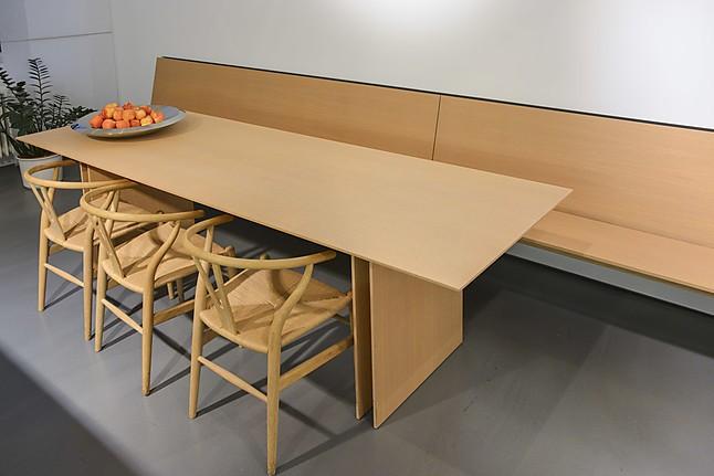 eckb nke c3 communication tisch und 2 wandh ngende b nke farbe eiche natur bulthaup m bel von. Black Bedroom Furniture Sets. Home Design Ideas