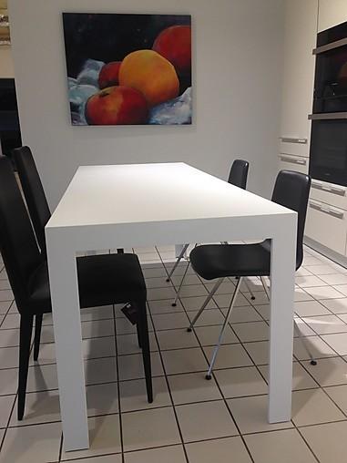 schreibtische fugenlose laminatbeschichtung in alpinwei tisch c2 bulthaup m bel von in. Black Bedroom Furniture Sets. Home Design Ideas