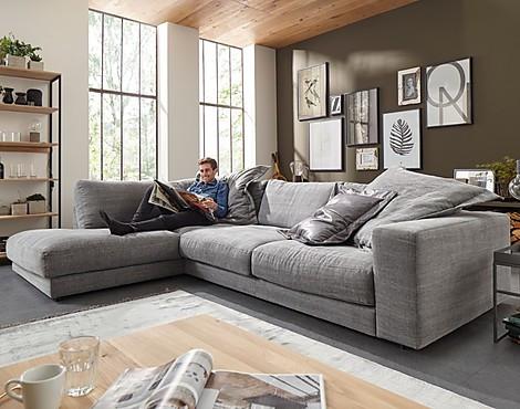 Möbelabverkauf - Wohnzimmer: Sofas und Couches reduziert