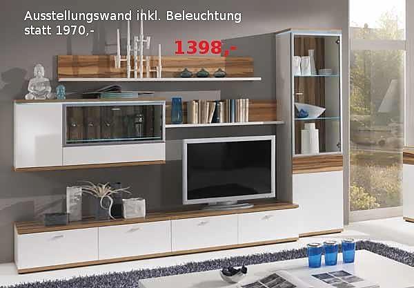 wohnw nde bristol wohnwand sonstige m bel von m belhaus cordes inh bj rn keil in detern. Black Bedroom Furniture Sets. Home Design Ideas