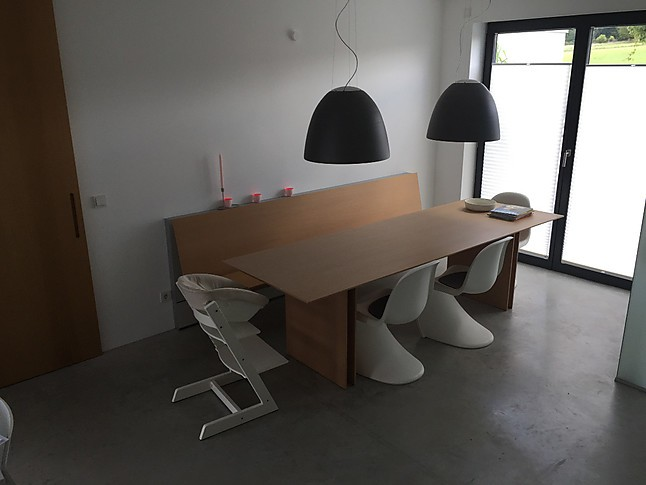 eckb nke c1 bulthaup tisch mit wandh ngender bank bulthaup m bel von inhouse k chen gmbh in. Black Bedroom Furniture Sets. Home Design Ideas