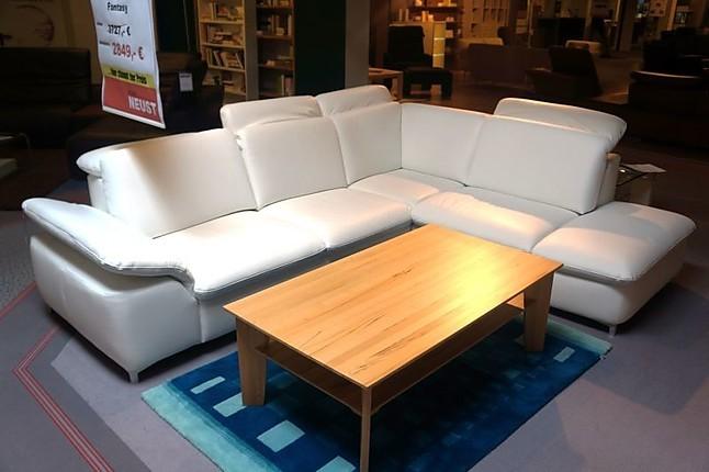 sofas und couches fantasy leder wei polstergarnitur hausmarke m bel von m bel neust in wirges. Black Bedroom Furniture Sets. Home Design Ideas