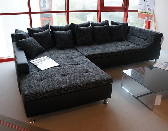 Sofas und couches mian wohnlandschaft hausmarke m bel von for Wohnlandschaft lederoptik