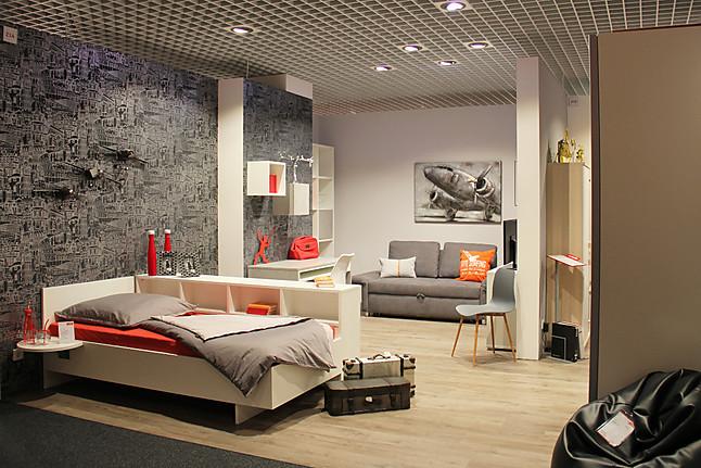 Schlafzimmer-Sets Jugendzimmer WF-6135 CONCRETE: Welle-Möbel von ...