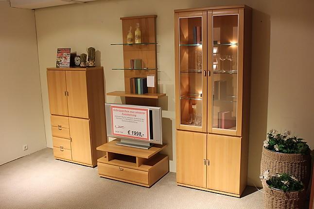 regale und sideboards mistral wohnwand buche natur teilmassiv sonstige m bel von m bel bley in. Black Bedroom Furniture Sets. Home Design Ideas