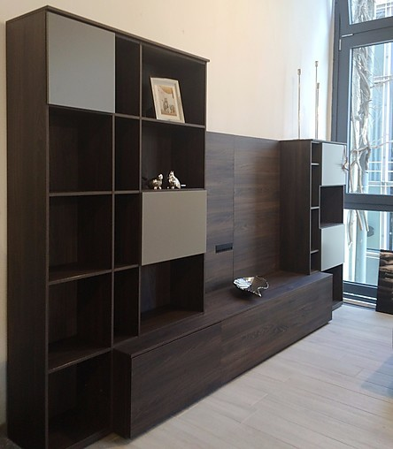 regale und sideboards about day novamobili wohnwand mit. Black Bedroom Furniture Sets. Home Design Ideas
