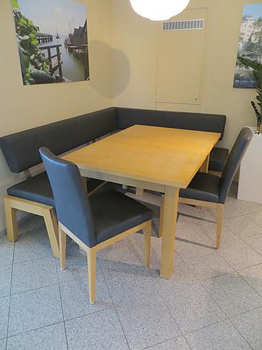 Eckbänke Tisch Modell Torino, Eckbank Modell Avellino, Stühle