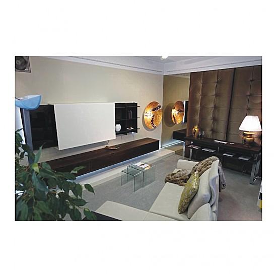 wohnw nde living wohnwand haas m bel von einrichtungsstudio scharfm ller in st p lten. Black Bedroom Furniture Sets. Home Design Ideas