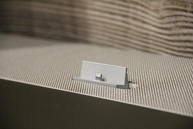 Wohnwände Wohnwand mit Soundsystem AMENO: Spectral-Möbel von ...