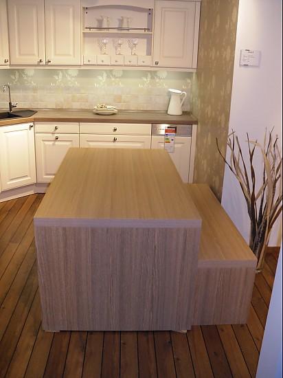 Esstische echtholz wangentisch eiche cornwall mit sitzbank for Esszimmertisch echtholz