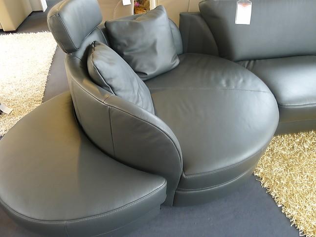 Sofas und Couches Varianta Leder Schiefer Couch von Weco Varianta ...