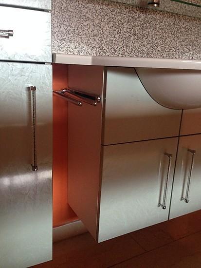 atelier frontfarbe glanz smaragd badezimmerschrank mit waschbecken. Black Bedroom Furniture Sets. Home Design Ideas
