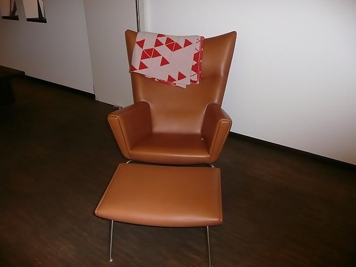 sessel ch 445 ch 446 wing chair carl hansen son m bel von bulthaup werkstatt wiesbaden in. Black Bedroom Furniture Sets. Home Design Ideas