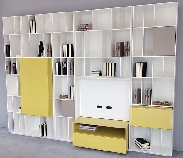 wohnw nde flex regalwand piure m bel von meiser k chen gmbh in hanau steinheim. Black Bedroom Furniture Sets. Home Design Ideas