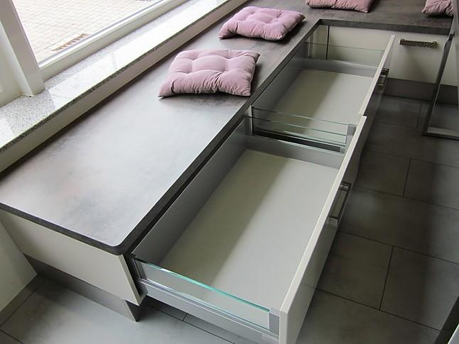 amazing price best sale factory outlet Eckbänke Nobilia Ausstellungsstück 555 Luxor 838 Lack, Sand ...
