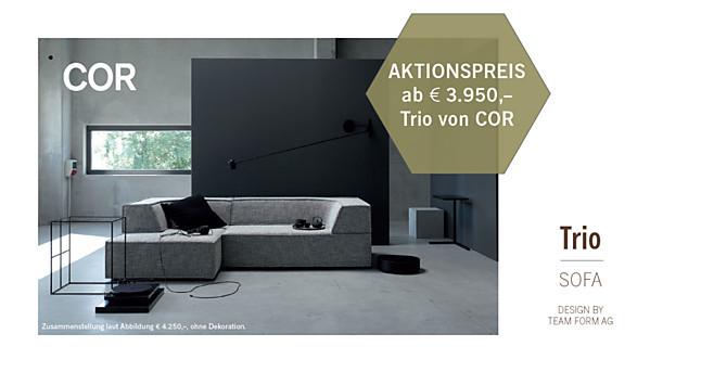Sofas und Couches Trio Sofa von COR: Cor-Möbel von vianden GmbH in ...