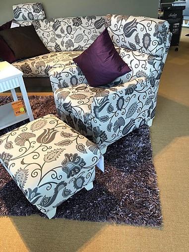 sessel coro einzelsessel mit hocker ponsel m bel von by land m belstudio in blankenhain. Black Bedroom Furniture Sets. Home Design Ideas