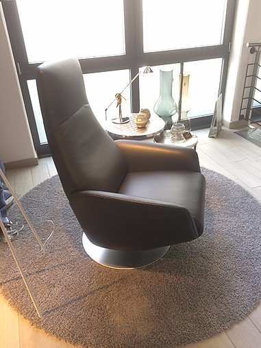 Sessel Skye Moderner Echtleder-Relaxsessel mit elektr. stufenloser ...