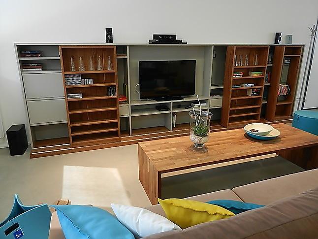 massivholzmobel wohnzimmerschrank, wohnwände amineo wohnzimmerschrank wohnwand: gruber & schlager-möbel, Design ideen