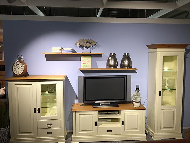wohnw nde nordic home wohnwand im landhausstil hausmarke m bel von m beltrends lallensack in. Black Bedroom Furniture Sets. Home Design Ideas