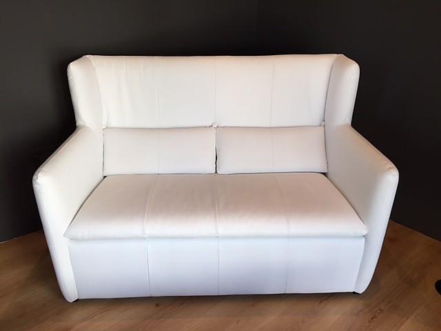 Sofas und Couches Tibati 2- Sitzer Ledersofa: WK-Möbel von Meiser ...