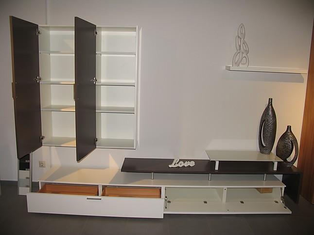 schr nke und vitrinen priel mod coom moderne wohnwand in lack weiss caffee sonstige m bel von. Black Bedroom Furniture Sets. Home Design Ideas