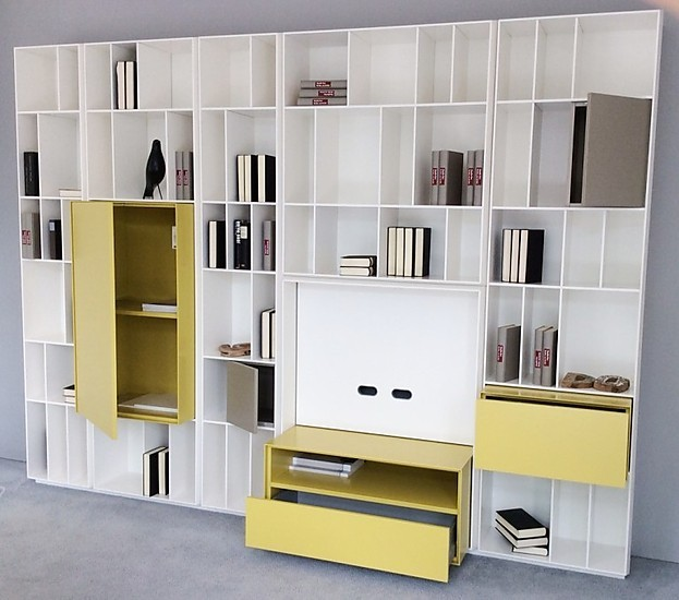 wohnw nde flex regalwand piure m bel von meiser k chen gmbh in hanau steinheim. Black Bedroom Furniture Sets. Home Design Ideas