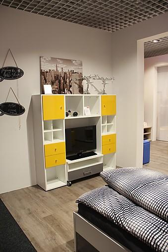 kinderbetten jugendwunder wf 6040 jugendzimmer bett kleiderschrank tv regal welle m bel von. Black Bedroom Furniture Sets. Home Design Ideas