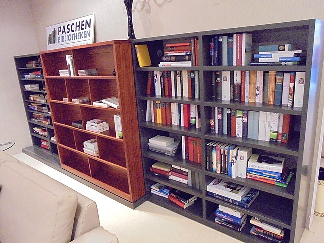 """Schränke und Vitrinen SOLUTION-BIBLIOTHEK Bücherwand """"SOLUTION-BIBLIOTHEK"""" von Paschen: Paschen ..."""
