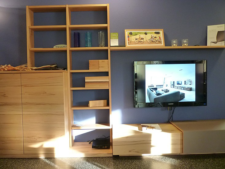 wohnw nde wohnwand cubus team 7 team7 m bel von. Black Bedroom Furniture Sets. Home Design Ideas