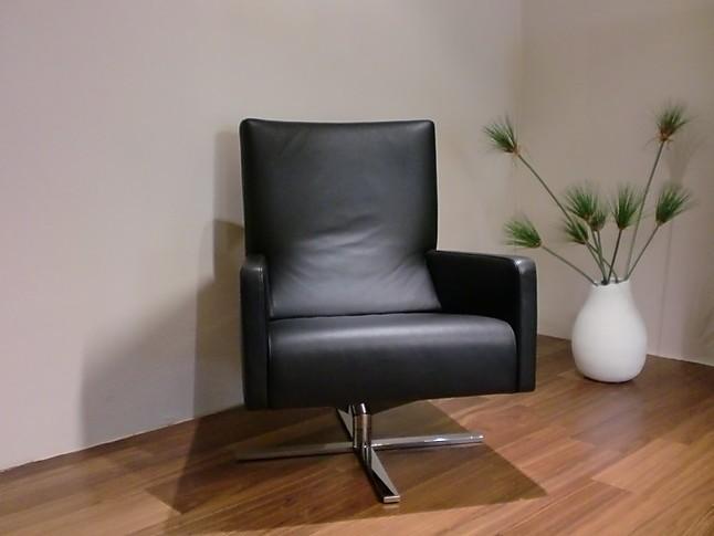 sessel cor sessel hocker ito drehbar leder schwarz cor sessel hocker ito leder schwarz cor. Black Bedroom Furniture Sets. Home Design Ideas
