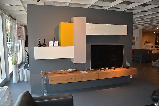 Wohnw nde moderne wohnkombination naxos w stmann m bel for Moderne wohnzimmer schrankwand