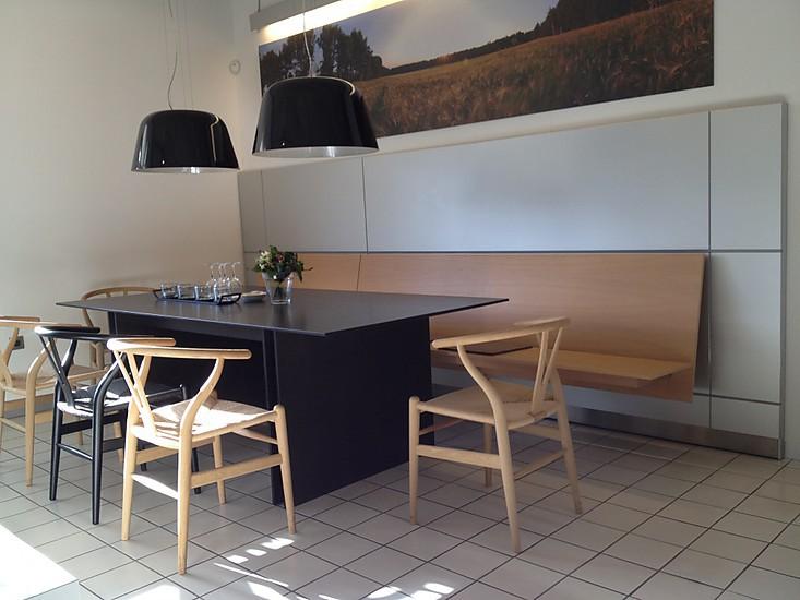 eckb nke bank eiche furniert naturgrau wandh ngend auf. Black Bedroom Furniture Sets. Home Design Ideas