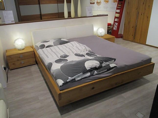 Schlafzimmer-Sets Nox Bett mit Polsterhaupt und ...