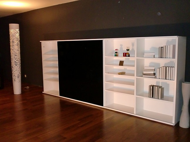 regale und sideboards interl bke wohnwand studimo lack. Black Bedroom Furniture Sets. Home Design Ideas