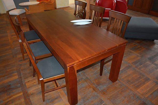 st hle 8003 kirschbaum gebeitzt und lasiert kirschbaum tisch mit 6 st hlen materia viva marktex. Black Bedroom Furniture Sets. Home Design Ideas