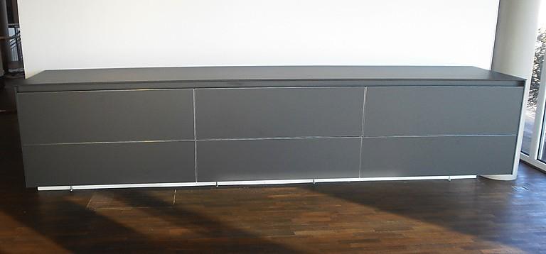 Wohnwande b 3 laminat graphit wandhangendes sideboard als for Laminat abverkauf