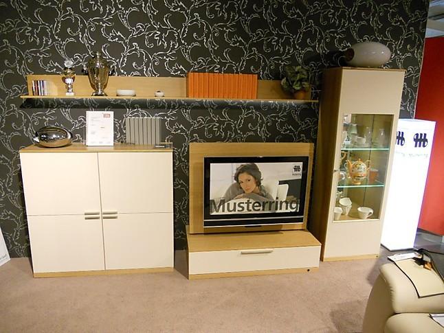 wohnw nde anbauwand modell kara musterring wohnwand kara eiche hausmarke m bel von in. Black Bedroom Furniture Sets. Home Design Ideas