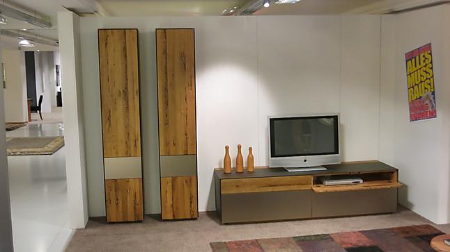 moderne wohnwande eiche, wohnwände cubus pur eiche venedig moderne wohnwand mit unikat, Innenarchitektur