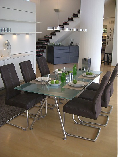Esstische duktus duktus Tischgruppe Kirsche/Glas bulthaup Möbel von Max & Co. in Lübeck