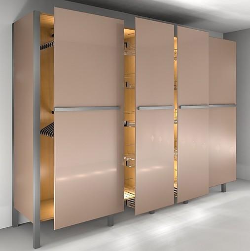 Kleiderschr nke modularer kleiderschrank mit auszieht ren for Schrankmodule schlafzimmer