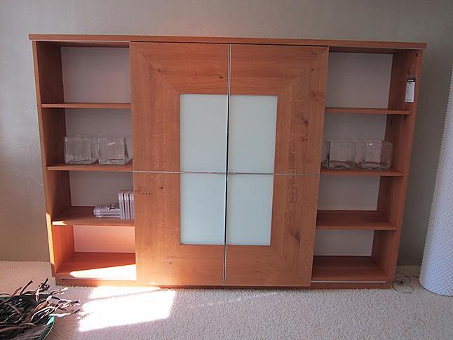 schr nke und vitrinen varus tv wohnwand aus massivholz mit schiebt ren scholtissek m bel von. Black Bedroom Furniture Sets. Home Design Ideas